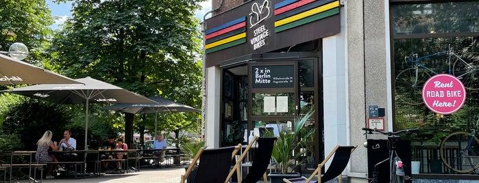 Steel Vintage Bikes Café is one of Tempat yang Disukai KT.