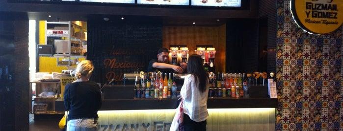 Guzman Y Gomez is one of Sydney Cafes.