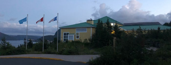 Tablelands Discovery Centre is one of Newfoundland.