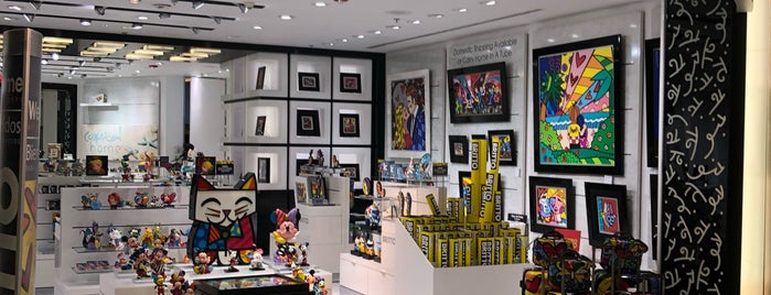Britto Gallery is one of Miami.