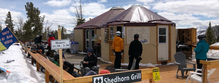 Shedhorn Grill is one of สถานที่ที่ Dave ถูกใจ.