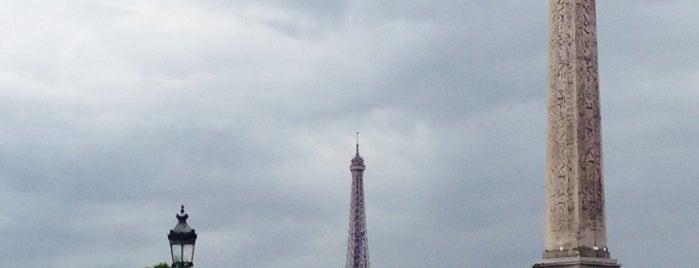 Place de la Concorde is one of Jas' favorite urban sites.