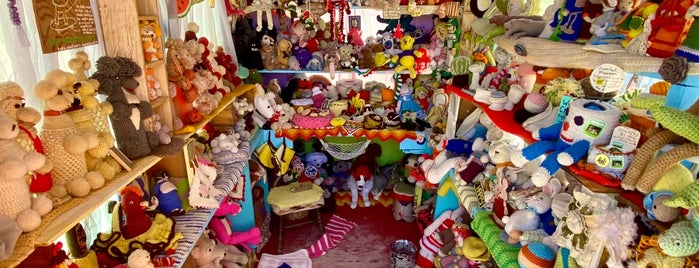 World Famous Crochet Museum is one of Quirky Landmarks USA.