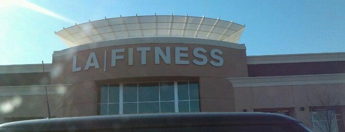 LA Fitness is one of Scott : понравившиеся места.