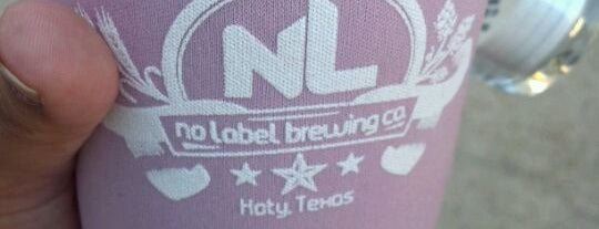No Label Brewing Co. is one of Texas breweries.
