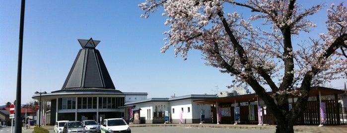 Aterazawa Station is one of JR 미나미토호쿠지방역 (JR 南東北地方の駅).