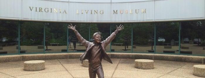 Virginia Living Museum is one of Virginia.