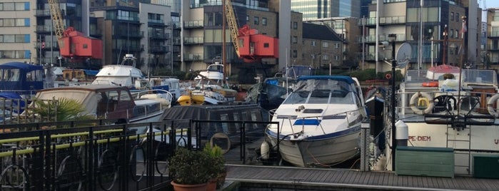 Poplar Dock Marina is one of Greenwich and Docklands; London.