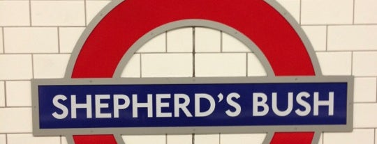 Métro Shepherd's Bush is one of Went before 2.0.