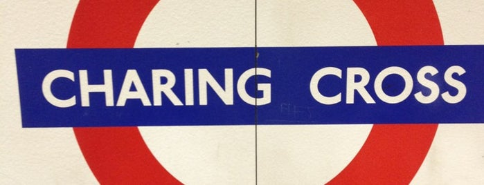 Charing Cross London Underground Station is one of Railway stations visited.