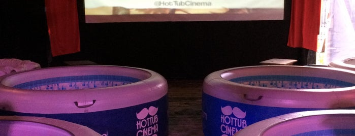 Hot Tub Cinema is one of london.