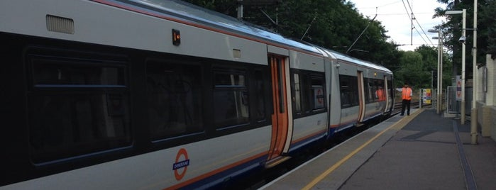 Hampstead Heath London Overground Station is one of Railway stations visited.