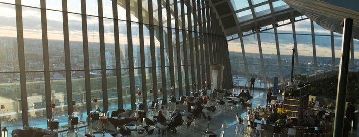 Sky Garden is one of London to-do.