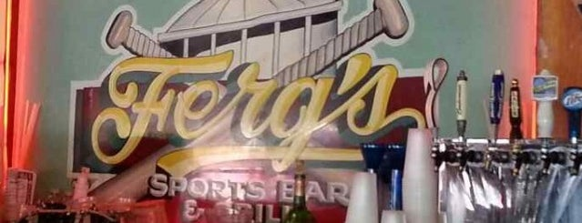 Ferg's Sports Bar & Grill is one of Lieux qui ont plu à Val.