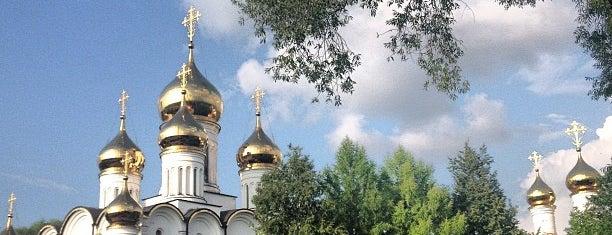 Свято-Никольский женский монастырь is one of Olesya V. : понравившиеся места.