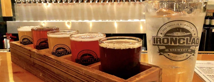 Ironclad Brewery is one of NC Craft Breweries.