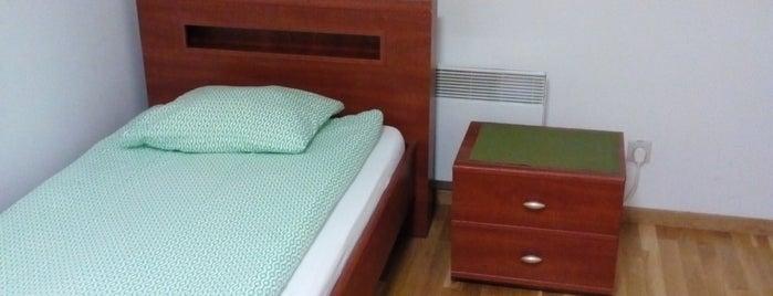 Quadrans hostel is one of Orte, die Алла gefallen.