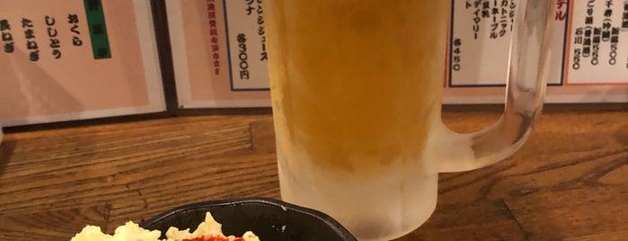 やきとん 野方屋 方南町店 is one of 旨い焼鳥もつ焼きホルモン焼き2.