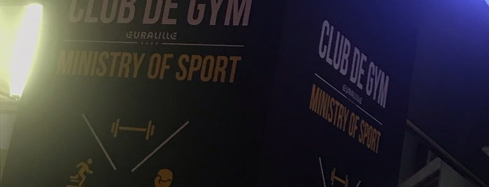 Club de Gym is one of Locais salvos de Charles.