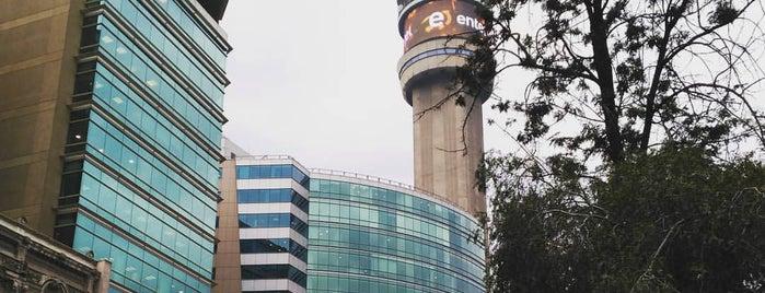 Mirador Torre Entel is one of Tempat yang Disukai Alberto.