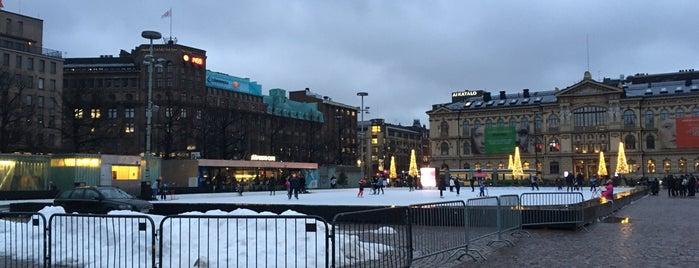 Jääpuisto Ice Park is one of Posti che sono piaciuti a Hideo.