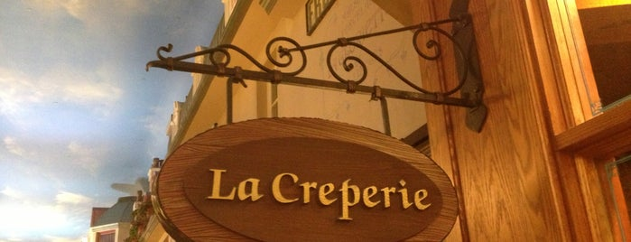 La Creperie is one of First List to Complete.
