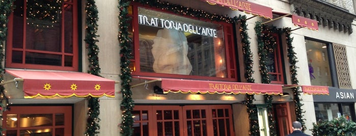 Trattoria Dell' Arte is one of Lugares favoritos de Andres.