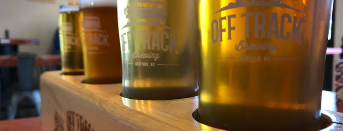 Off Track Brewing is one of Anne's Liked Places.