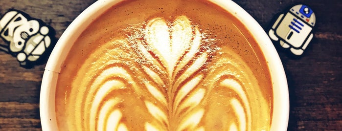 Baristar Coffee & Tea is one of Locais salvos de Jaclyne.