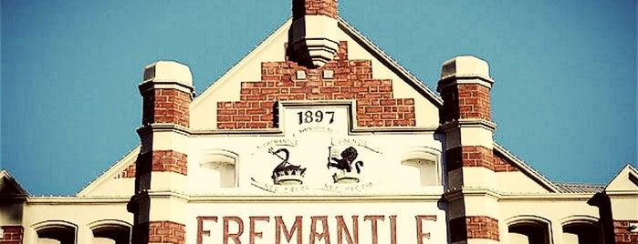 Fremantle is one of สถานที่ที่บันทึกไว้ของ Syahirah.