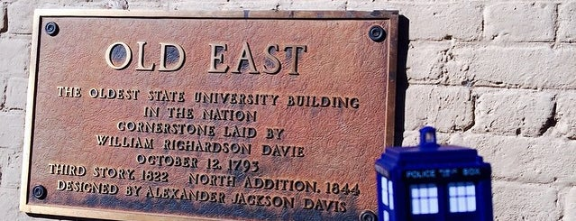 Old East Residence Hall is one of North Carolina.