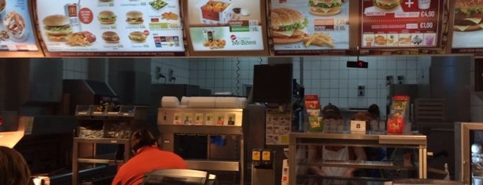McDonald's is one of Cibo.