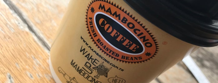 Mambocino Coffee is one of Lugares favoritos de R. Gizem.