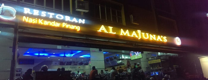 Restoran Al Majuna's is one of Lugares favoritos de Rapiszal.