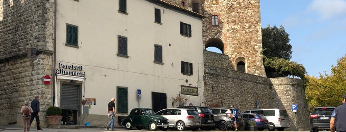 Radda in Chianti is one of Toscana.