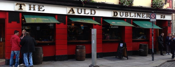 The Auld Dubliner is one of Ana.