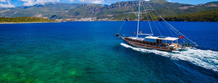 BOAT TRIPS BY CAPTAIN ERGUN is one of Kaş & Kalkan.