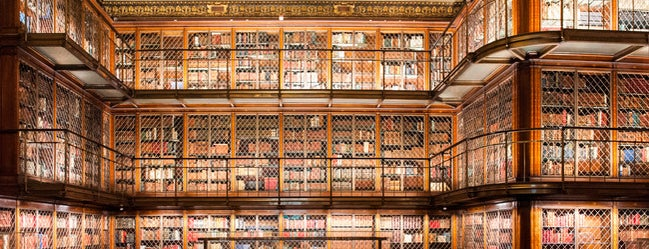 The Morgan Library & Museum is one of Books everywhere I..