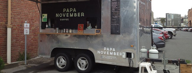 Papa November is one of 25 Top Coffee Shops in SF.