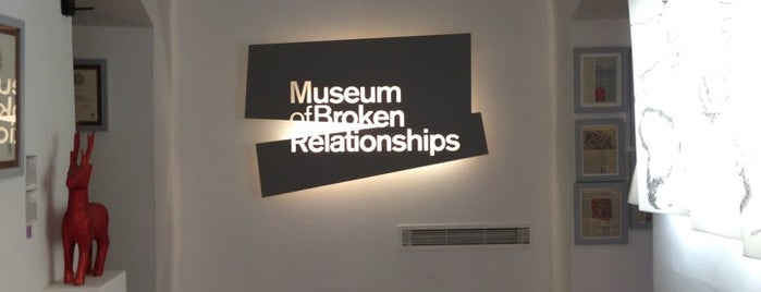 Muzej prekinutih veza | Museum of Broken Relationships is one of Georg : понравившиеся места.