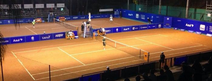 ATP Challenger de Tenis - CLUBE PAINEIRAS is one of Tempat yang Disukai Claudio.