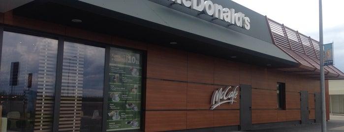 McDonald's is one of Orte, die Kostya gefallen.