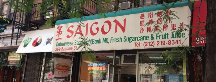 Saigon Vietnamese Sandwich Deli is one of The New York List.