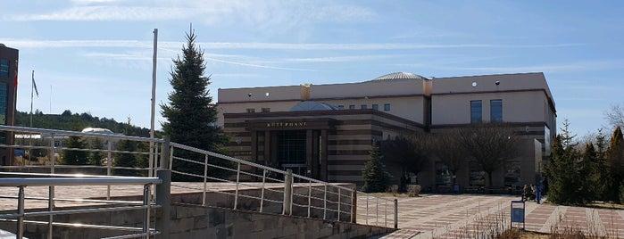Merkez Kütüphane is one of Halil G.さんのお気に入りスポット.