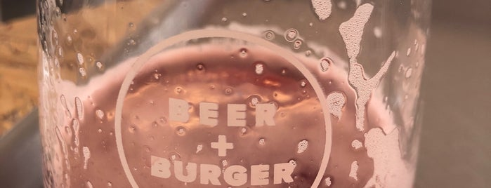 Beer + Burger is one of London.