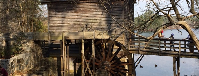 Grist Mill / Stone Mountain Park is one of AeneasJ's Saved Places.