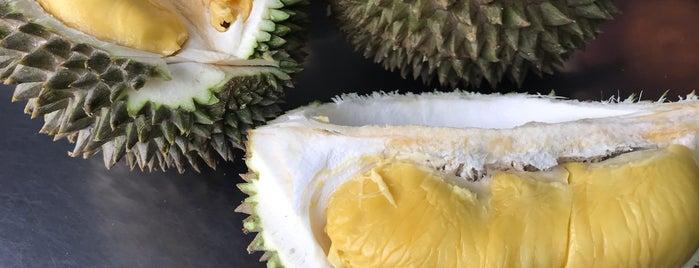 Ah Teik Durian Stall is one of Kuliner Penang.