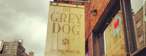 The Grey Dog - Nolita is one of The New Yorkers: Pup Life.