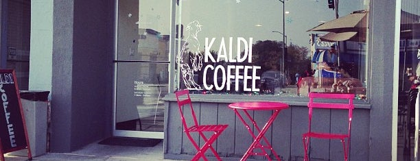 Kaldi Coffee is one of Los Angeles Indie Coffee Places with Wifi.