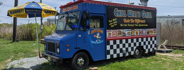 Chill Will's Grill is one of INSAHD! Been There, Done That (NJ).